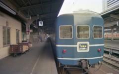 日本海1号、大阪駅9番線。