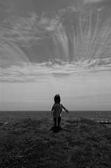 空と雲と海と私