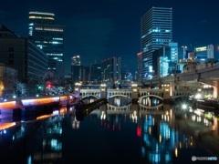 水晶橋夜景
