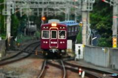 阪急宝塚線 D7200のミニチュア効果