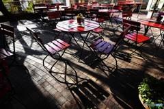 神戸異人館のカフェ