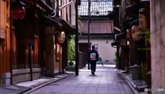 京の午後は静かに流れて
