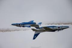 芦屋基地航空祭2018 ブルーインパルス