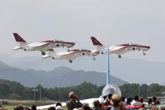 芦屋基地航空祭2016 レッドインパルス