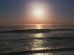 一葉海岸の初日の出