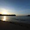 守谷海岸の朝陽