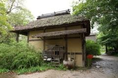 水車小屋と曼珠沙華