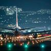 夜の出発便 Reflex Nikkor