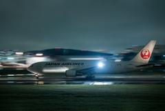 雨の日 飛行機