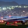出発を待つ 「Boeing 767-300」