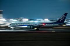 夜流し 「Boeing 767-300」