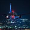夜の到着便 「Airbus A321-272N」