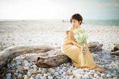 「空と海辺」3