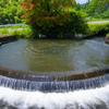 通潤用水笹円形分水