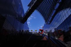 8月31日は京都散歩の始まり。駅