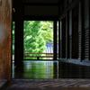天龍寺の床は映る