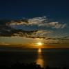 9月8日夕陽の始まり