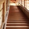 厳しさを物語る階段