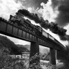 鉄橋を行く