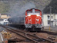 赤乃機関車