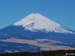 故郷の三島からの富士山