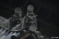 弐枚の鬼瓦