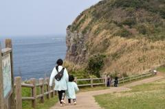 平戸の岸壁