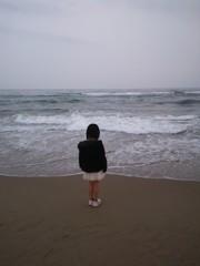海岸に独り
