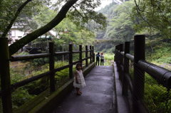 高千穂峡への道
