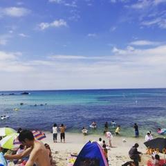 角島の青いビーチ_20150719_161121