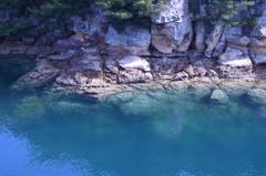 エメラルドグリーンの海 九十九島