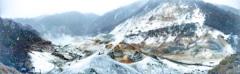 北海道 登別温泉地獄谷