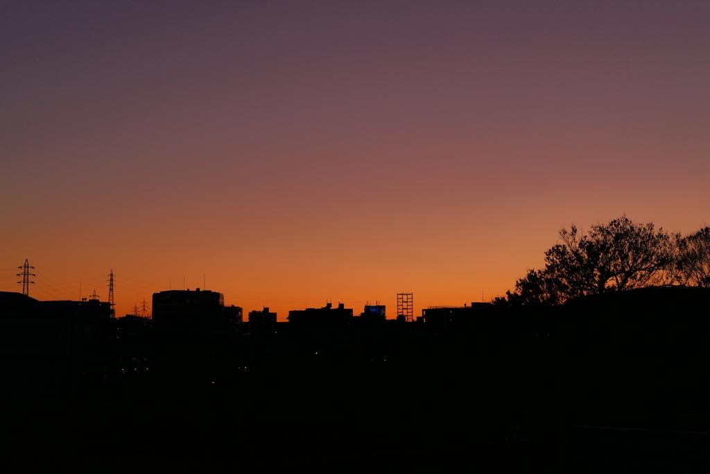 夕空のカクテル