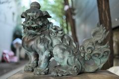 花園神社 狛犬