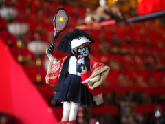 テニスな雛人形