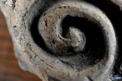 縄文土器のぐるぐる