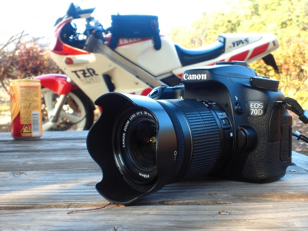 バイク乗りのカメラ