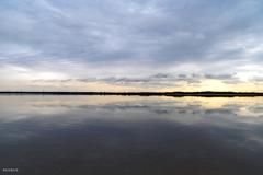 ウユニ湖のようだったので