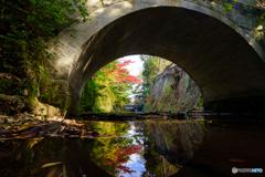 東勝寺橋の秋