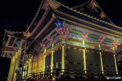 夢叶う光の夜-社殿-