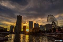 Minatomirai Sunset