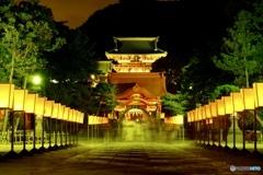 鶴岡八幡宮ぼんぼり祭