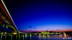 金沢の夕照