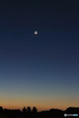 月と木星と金星