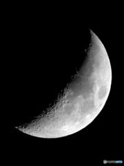 今日の月(10月26日)