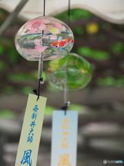 西新井大師、風鈴祭り3