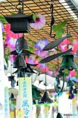 西新井大師、風鈴祭り5