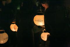 夜参り提灯2