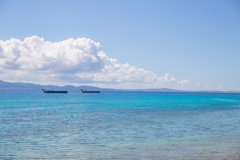 この青い海に