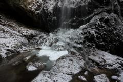 冬の滝壺 ~御船の滝~
